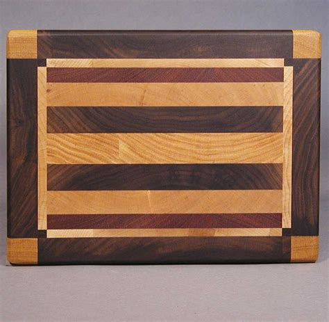 Stay Sharp Kitchen Knives rectangular end grain cutting boards