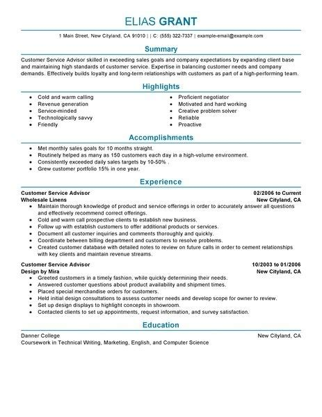 sle of professional resume for customer service professional resume builder service resume builder