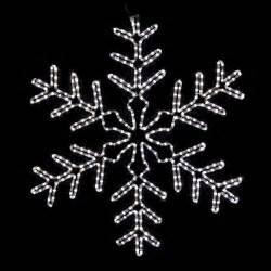 snowflakes stars 3 giant white led snowflake