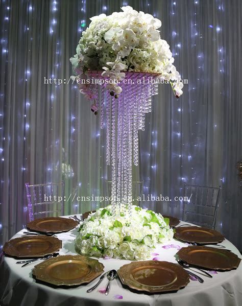 5 Tier Square Crystal Chandelier Centerpiece Giant 90cm Chandelier Centerpieces