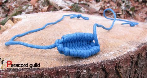 braidedwoven rock sling paracord guild