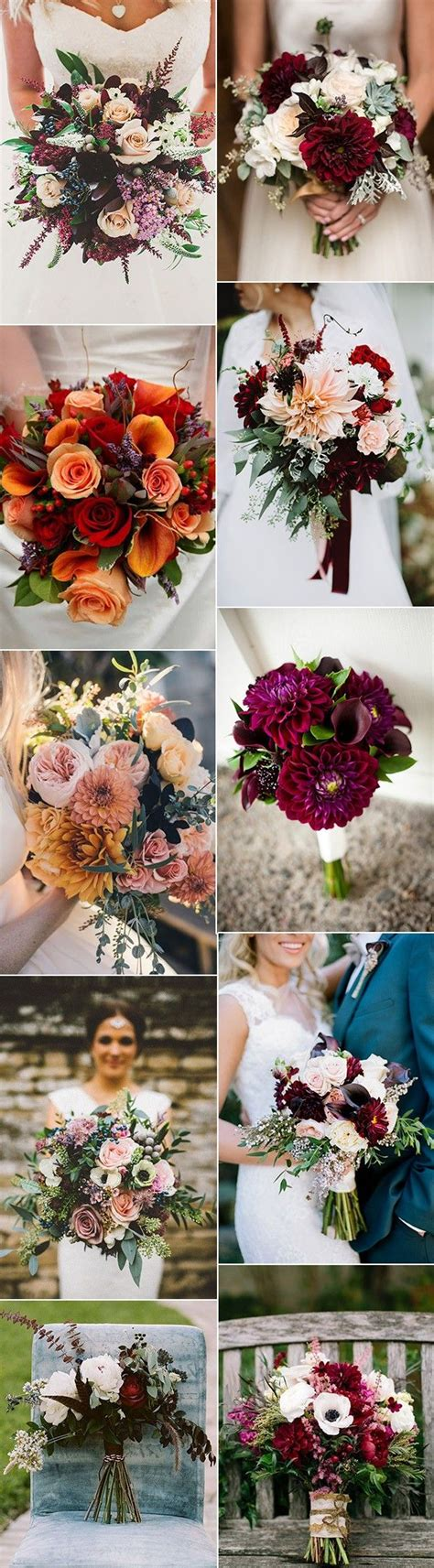 Fall Wedding Flower Ideas by 70 Amazing Fall Wedding Ideas For 2017 Bouquet Flowers