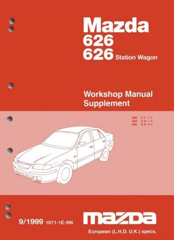 free service manuals online 2001 mazda 626 interior lighting 626 mx6 factory service manual download 1992 1993 1994 1995 1996 1997 bed mattress sale