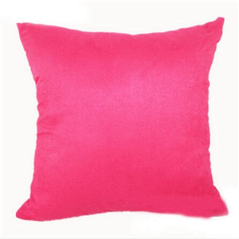 How To Wash Suede Cushion Covers by Multi Color Suede Cushion Cover Throw Pillow Home