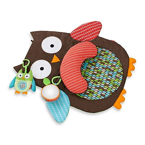 Skip Hop Treetop Friends Tummy Time Mat Owl buy skip hop 174 treetop friends tummy time mat from bed bath