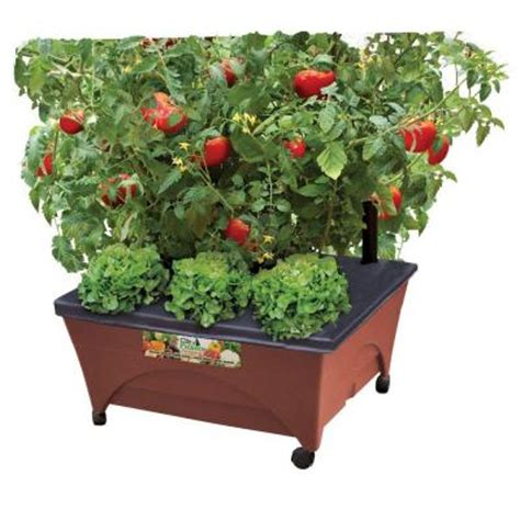 city pickers 24 5 in x 20 5 in patio raised garden bed