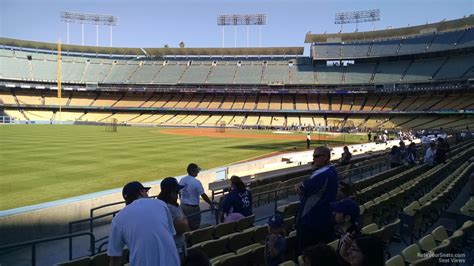 what is a section 47 dodger stadium section 47 rateyourseats com