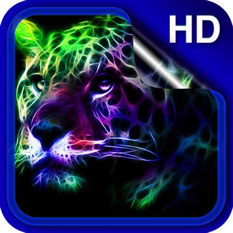 neon animals wallpaper google play softwares