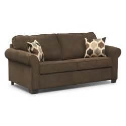fletcher innerspring sleeper sofa chocolate value