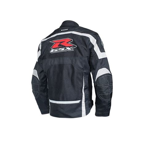 Suzuki Apparel Catalog Gsx R Mesh Jacket Black Yamaha Sports Plaza