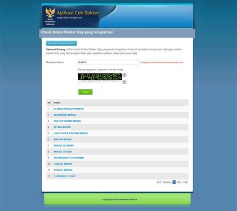 template kartu nama dokter gigi cari informasi dokter dokter gigi cek di konsil
