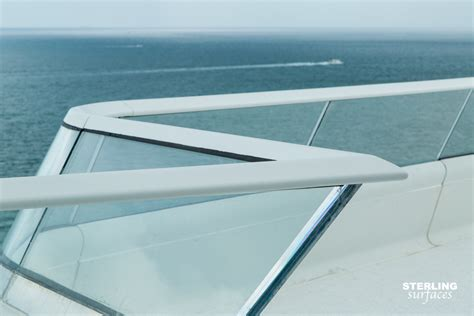 corian thermoforming faena house sterling surfaces solid surface