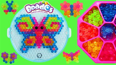 beados gems butterfly activity pack playset