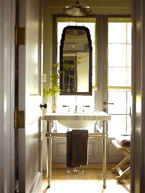 bathroom mirror on window jen duchene