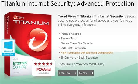free trend micro titanium security 2013 six