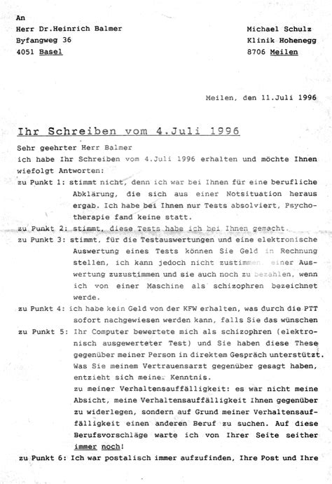 Brief Antrag Auf Schulbefreiung Die Kriminelle Psychiatrie Behandelt Nur Die Opfer Die T 228 Ter Aber Nie