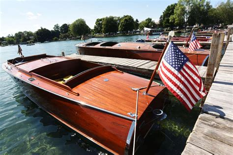 antique boat show antique and classic boat show docks in skaneateles local