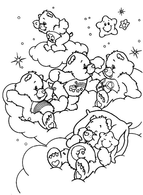 Care Bears Color Pages Coloring Home To Color