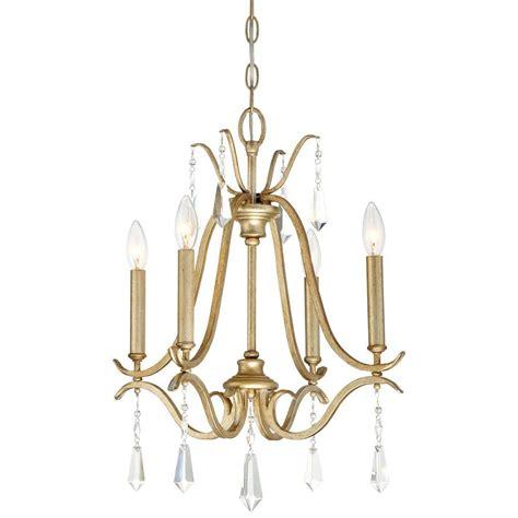 4 Light Chandelier Minka Lavery Laurel Estate 4 Light Brio Gold Mini Chandelier 4444 582 The Home Depot