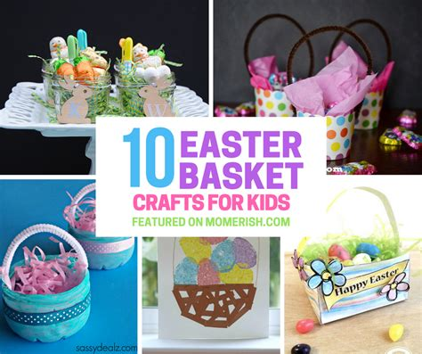 Easter Basket Crafts For Toddlers Www Imgkid Com The | 10 easter basket crafts for kids from mom s desk