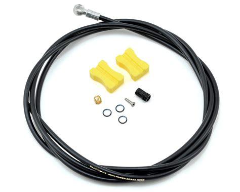 Brake Hose Shimano Sm Bh90 Ss Housing Hidrolik Shimano Olive Conect shimano bh90 sb 2000mm disc brake hose kit black