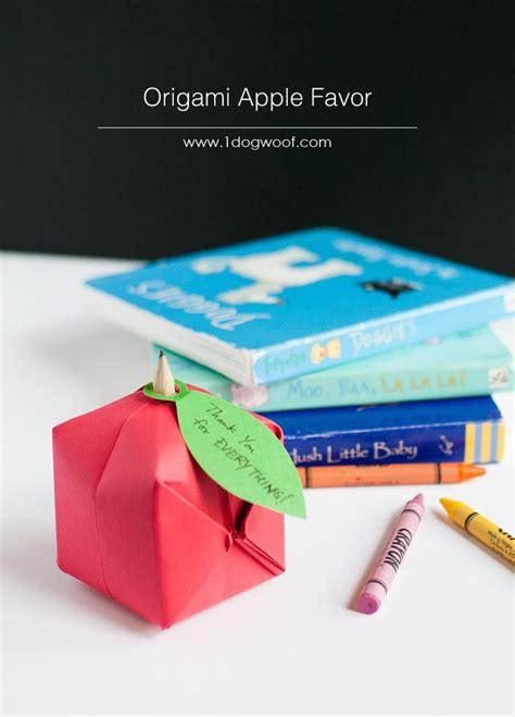 Apple Origami - 25 unique origami apple ideas on paper plants