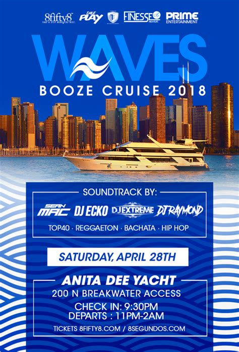 martini party boat chicago waves booze cruise 2018 live chicago banda events