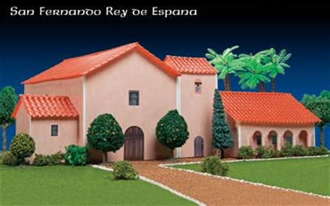 Mission Santa Barbara Floor Plan Missions Of California San Fernando Rey De Espana