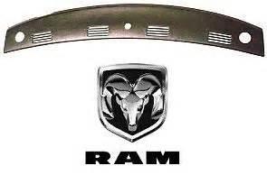 dodge ram 02 03 04 05 rear molded dash cover