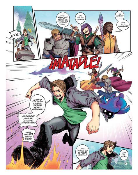 imagenes del virtual hero la primera parte del comic del rubius comics e