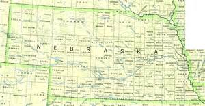 Of Ne Nebraska Map