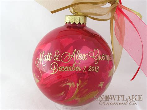 custom designed ornaments 28 images four pink custom