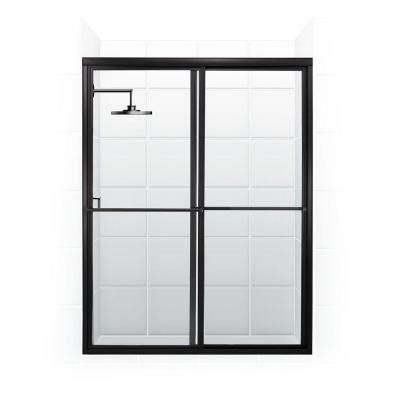 Coastal Shower Doors Newport Series 56 In X 70 In Framed Shower Door Bar