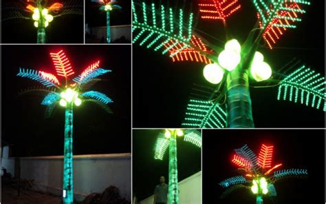 lampu pohon palmkelapa led hp  wa jual
