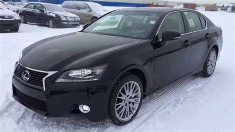 lexus gs 350 luxury package new black on flaxen 2015 lexus gs 350 awd luxury package