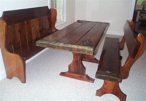 small kitchen table with bench photo 9 kitchen ideas