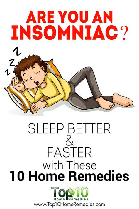 10 Home Remedies For Insomnia by Insomnia Home Remedies And Sleep Better On