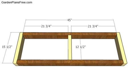 building a bench seat frame simple garden bench plans free garden plans how to