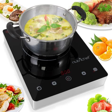 Countertop Cooktops Electric Nutrichef Pkst18 Kitchen Cooking Cooktops Griddles