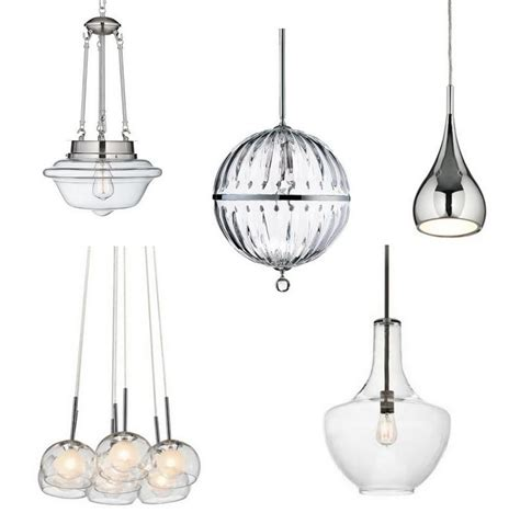 chrome pendant light kitchen kitchen pendant lighting ls