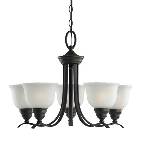 Country Cottage Lighting by Shop Sea Gull Lighting Wheaton 24 In 5 Light Heirloom