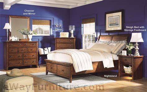 cambridge bedroom set cambridge court full storage sleigh bedroom set