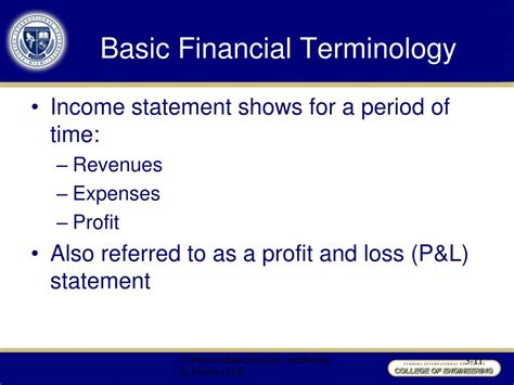 Basic Financial Terms For Mba by Ppt Chapter 3 Powerpoint Presentation Id 303747