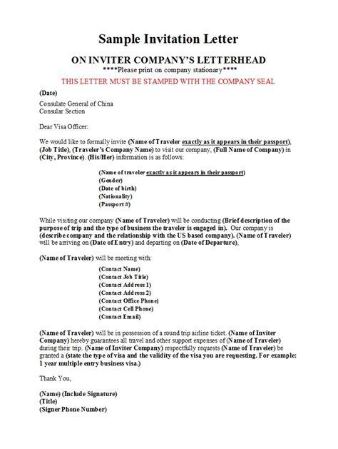 business invitation letter laustereocom