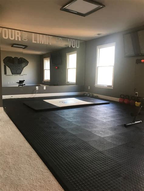 Exercise  Workout Room Flooring