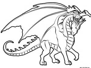 free dragon coloring pages print kids