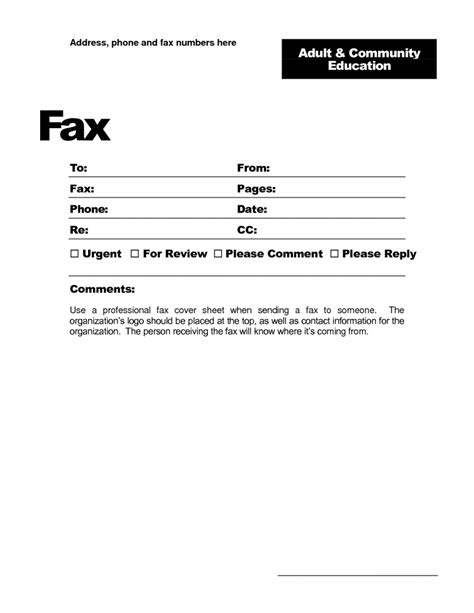 cover letter template microsoft word 2007 sle creative fax cover pages sles and templates