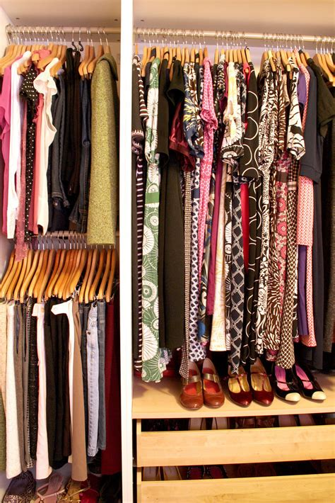 organize wardrobe my organized closet making it lovely