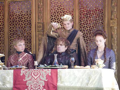 game of thrones purple wedding recap popsugar entertainment