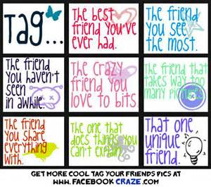 Pin tag your best friends on facebook on pinterest